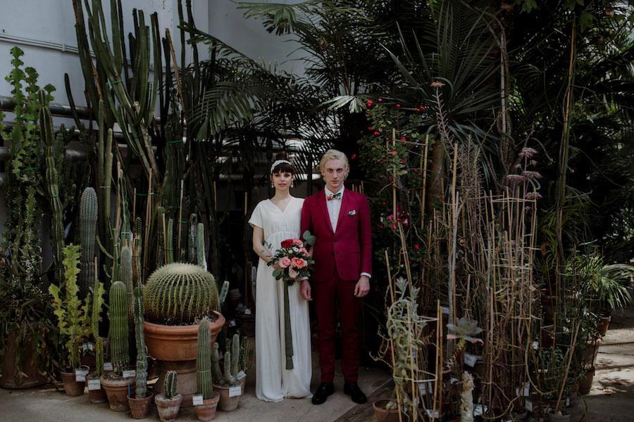 Ispirazione jungle allorto botanico di firenze wedding wonderland