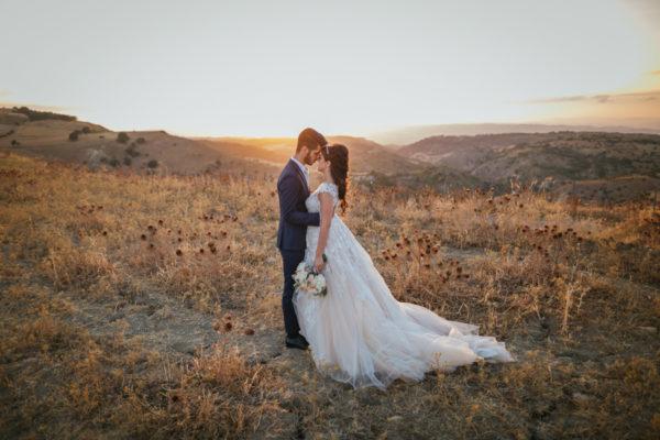 Un romantico matrimonio in Sicilia