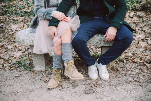 Una engagement session invernale
