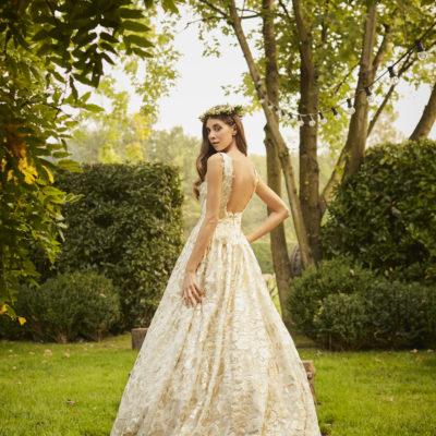 La collezione di Francesca Piccini Bridal, tra romanticismo e magia