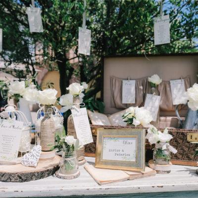 Un matrimonio vintage e botanico