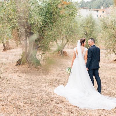 Foglie di ulivo per un matrimonio bucolico