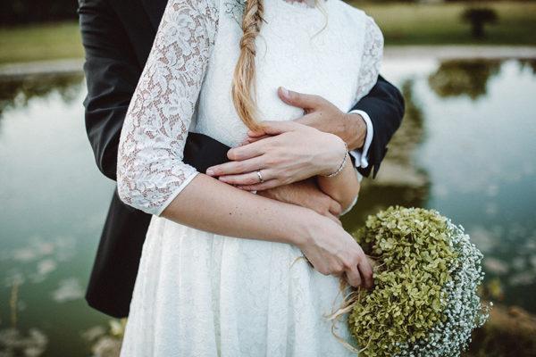 Un matrimonio bucolico con un tocco retrò