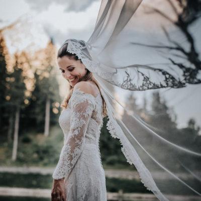 Un matrimonio sulle Dolomiti