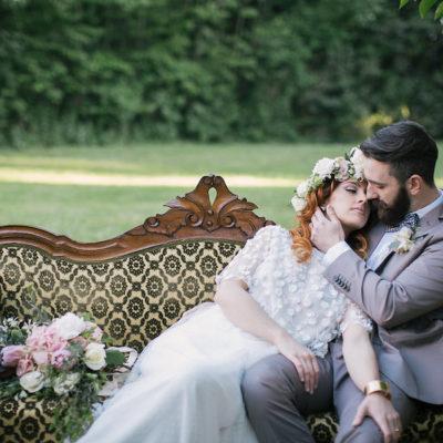 La Vie En Rose – Un matrimonio vintage e romantico
