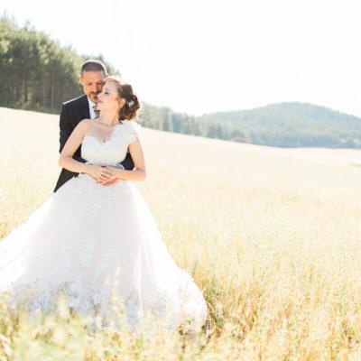 Un matrimonio elegante in montagna