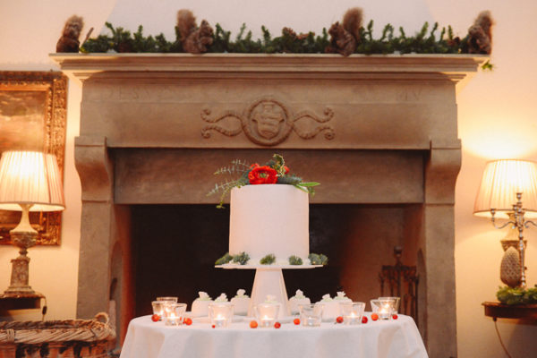 Un matrimonio natalizio in Toscana