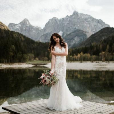 Un matrimonio autunnale in montagna