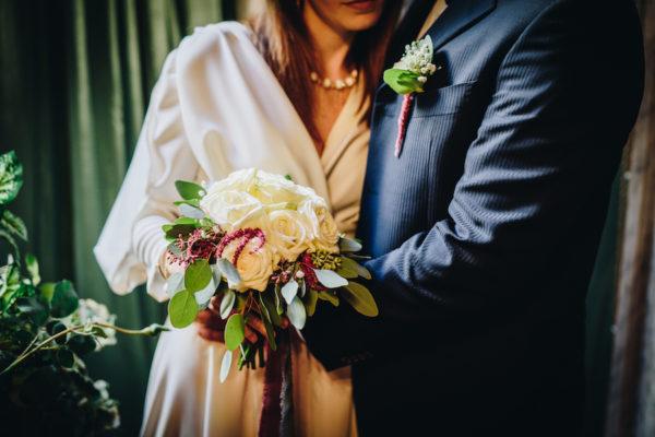 Ispirazione raffinata per un matrimonio a Natale