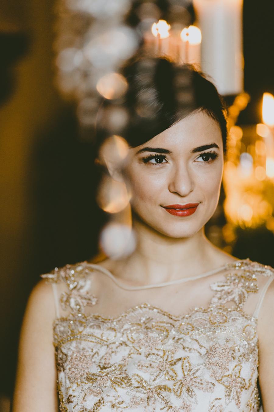 abito da sposa oro marianna lanzilli