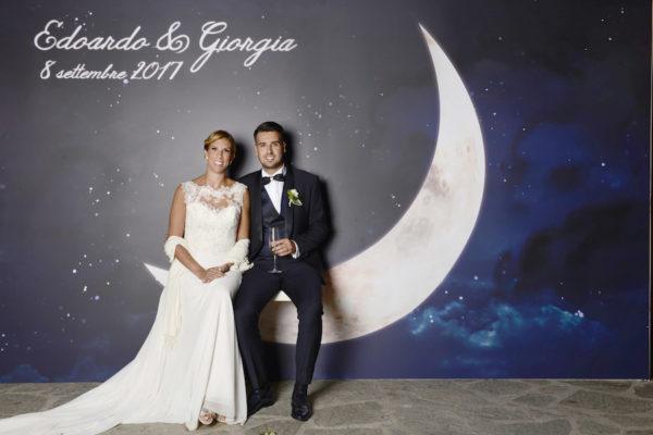 Edera e rosa pastello per un matrimonio raffinato