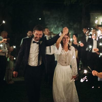 Un matrimonio organico tra dettagli vintage e un abito speciale