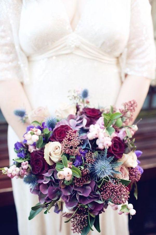 bouquet viola ultraviolet