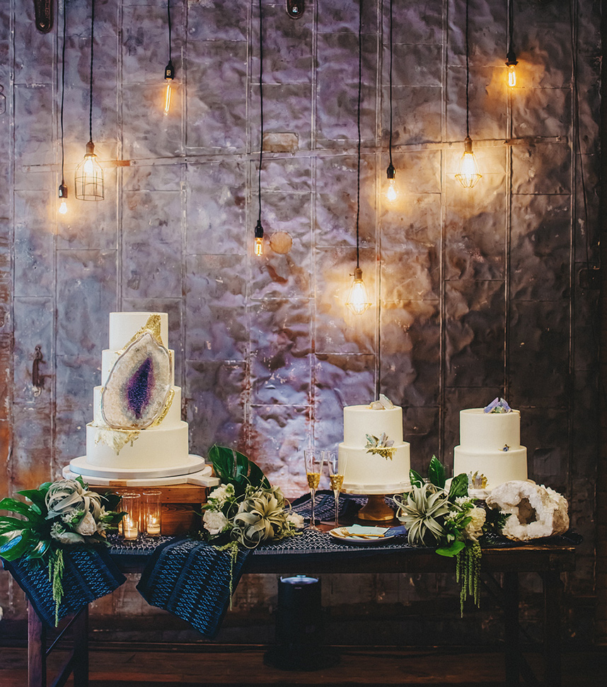 geode cake viola