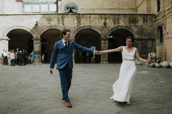 Un matrimonio bucolico a Napoli