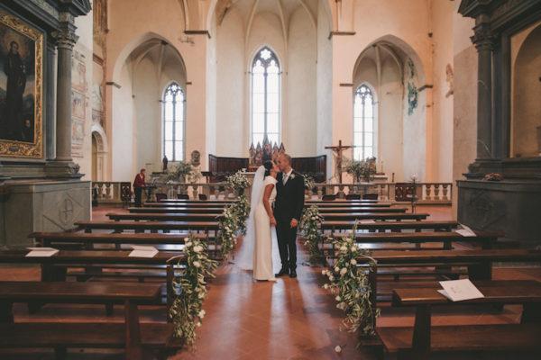 Un matrimonio verde e fatto a mano