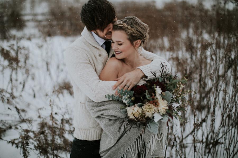 ispirazione per un matrimonio hygge