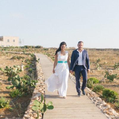 Un matrimonio intimo a Favignana