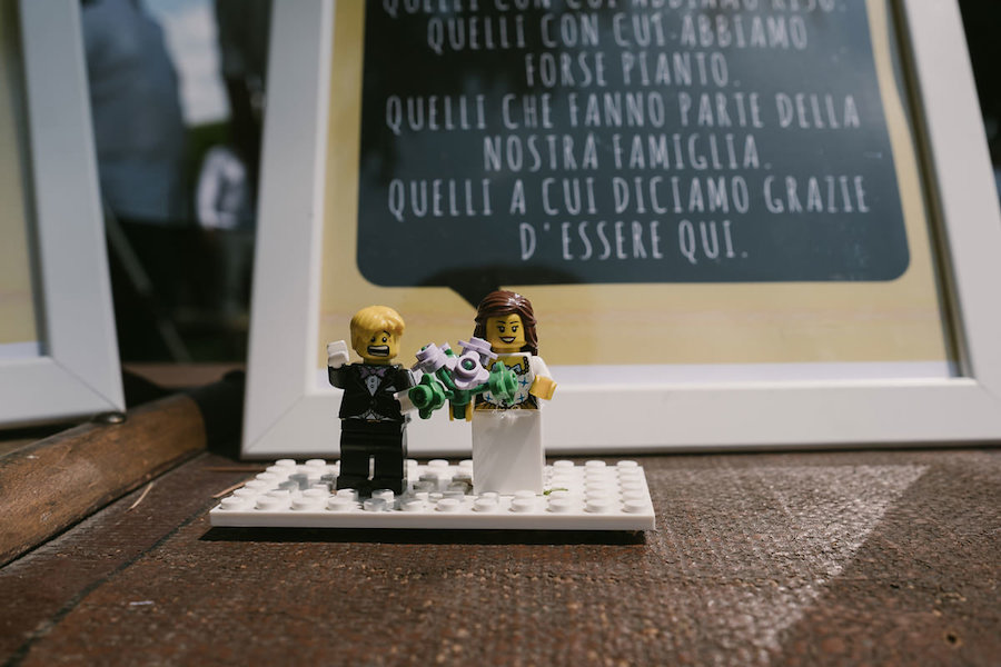Matrimonio Tema Lego : Un matrimonio a tema lego wedding wonderland