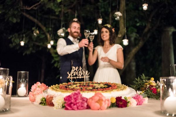 I colori dell'estate per un matrimonio pieno di fiori