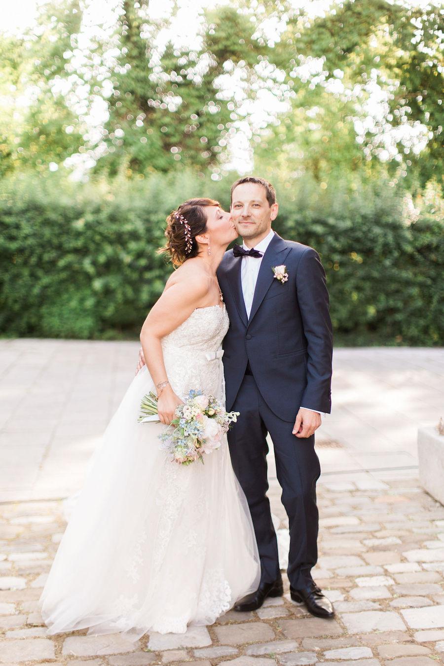 matrimonio geometrico colori pastello