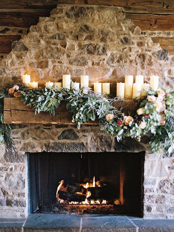 camino per un matrimonio invernale
