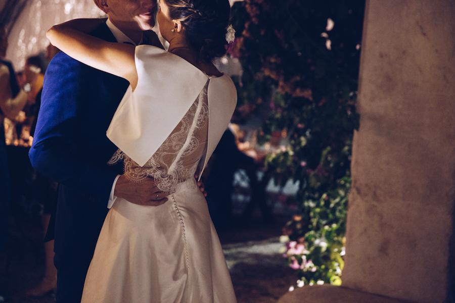abito da sposa due pezzi atelier emé