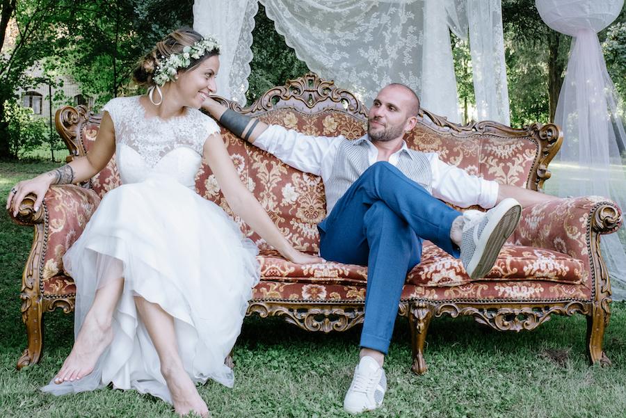 matrimonio boho chic a palazzo barbò