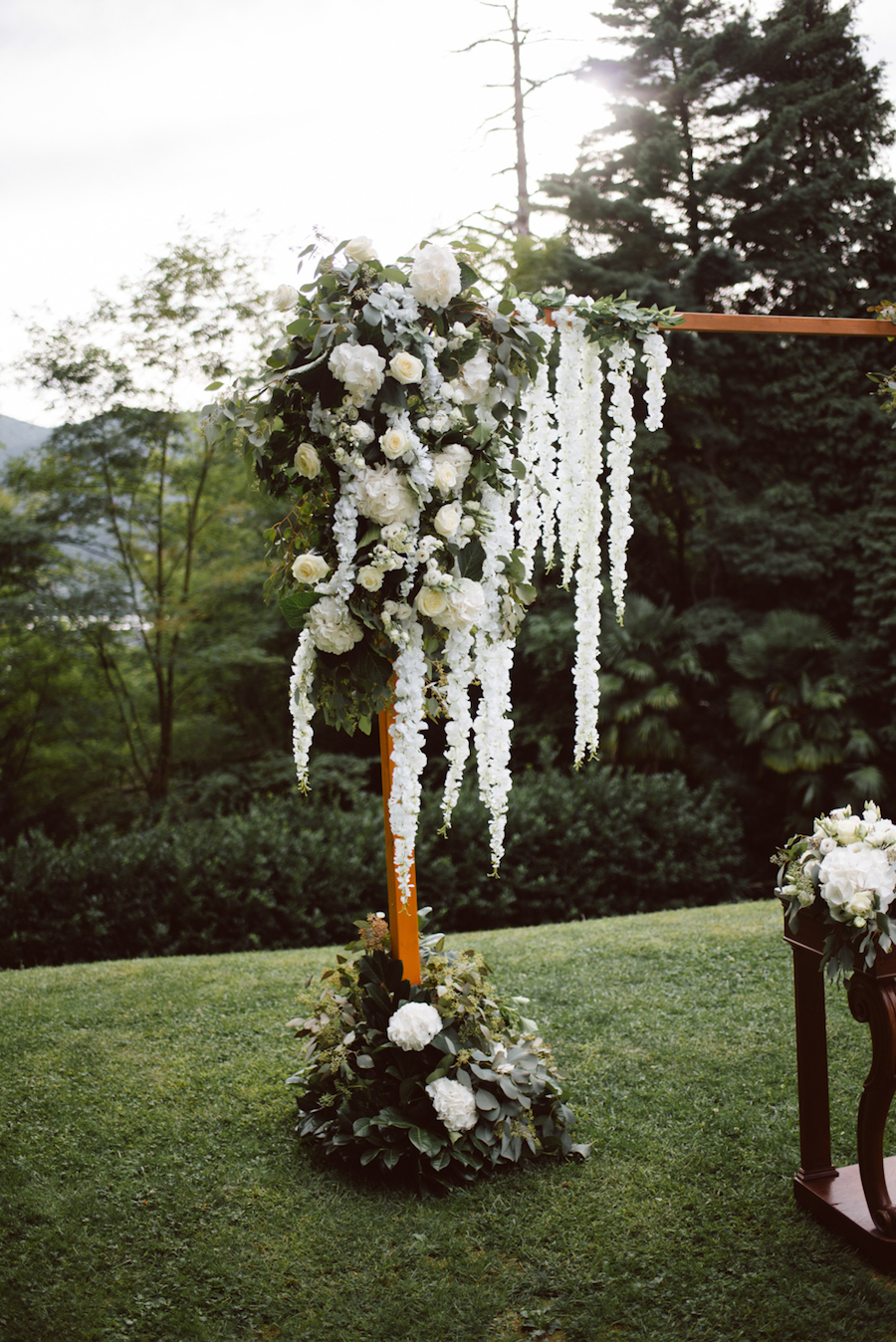 cerimonia botanica a villa crespi
