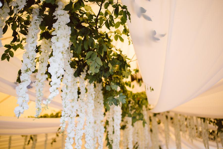 allestimento matrimonio botanico