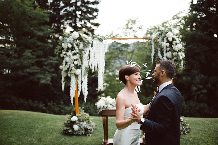 matrimonio botanico all'aperto