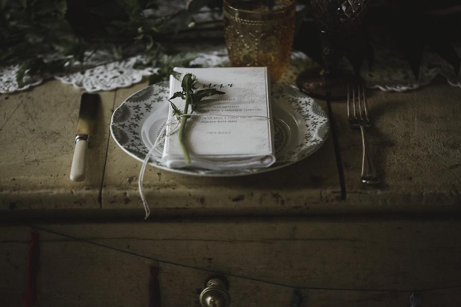 tavola matrimonio bohémien
