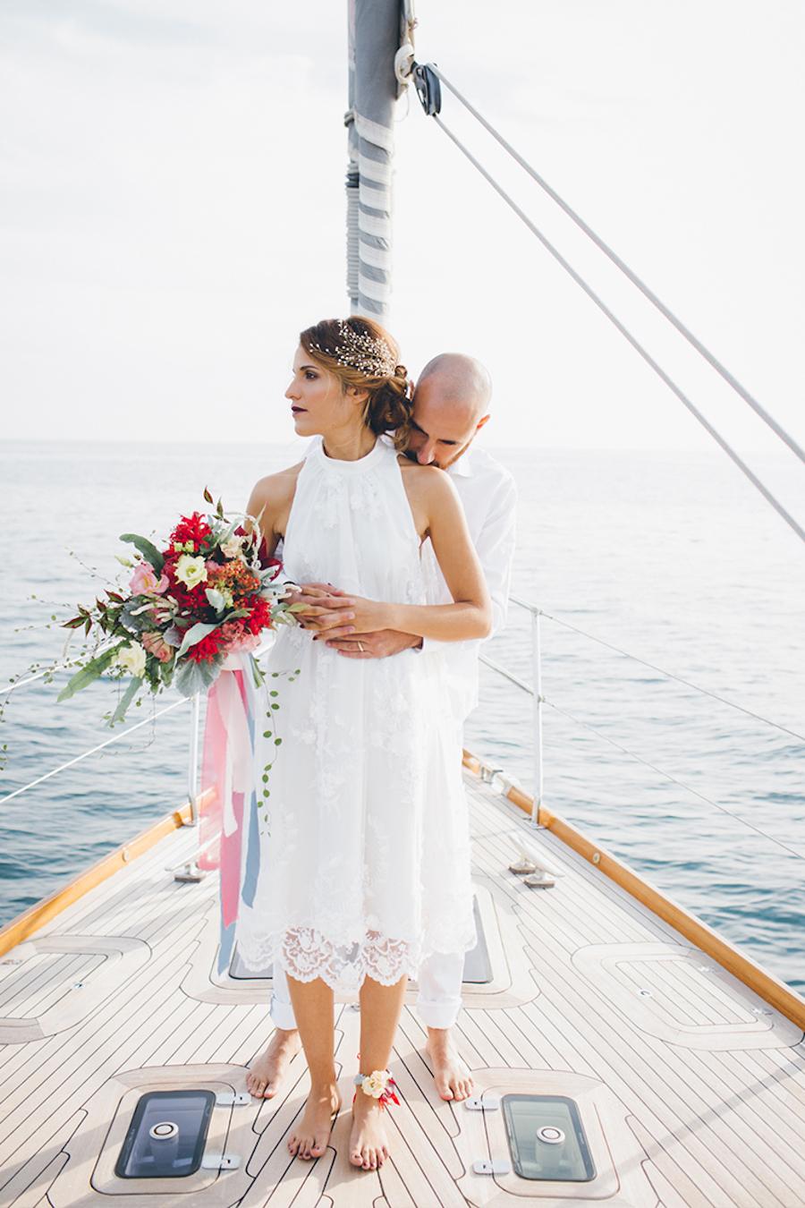 abito da sposa corto marianna lanzilli