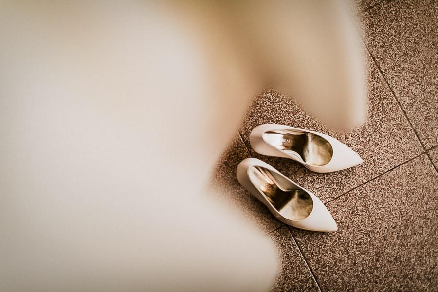 scarpe da sposa bianche