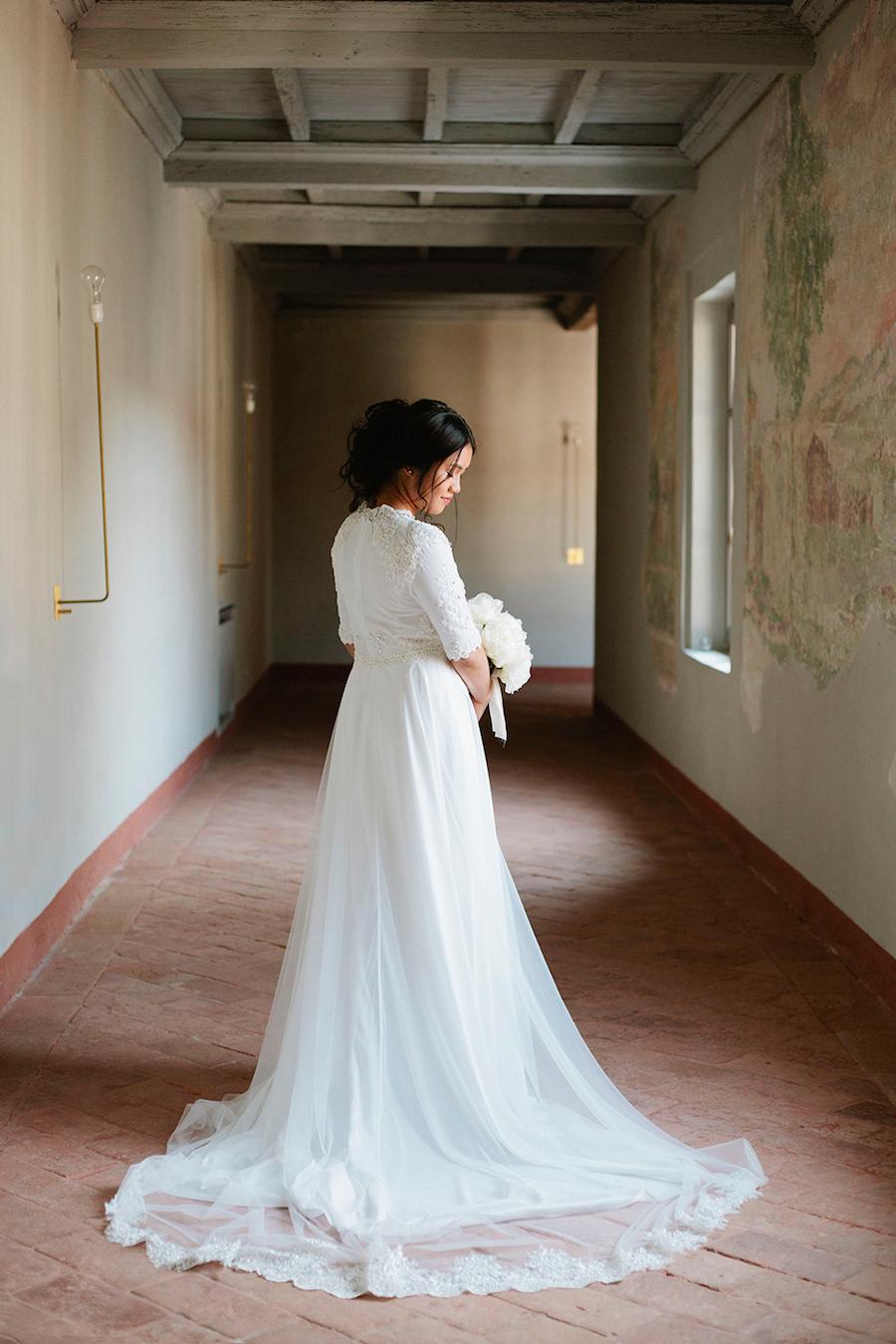 abito da sposa Ron Ramos New York