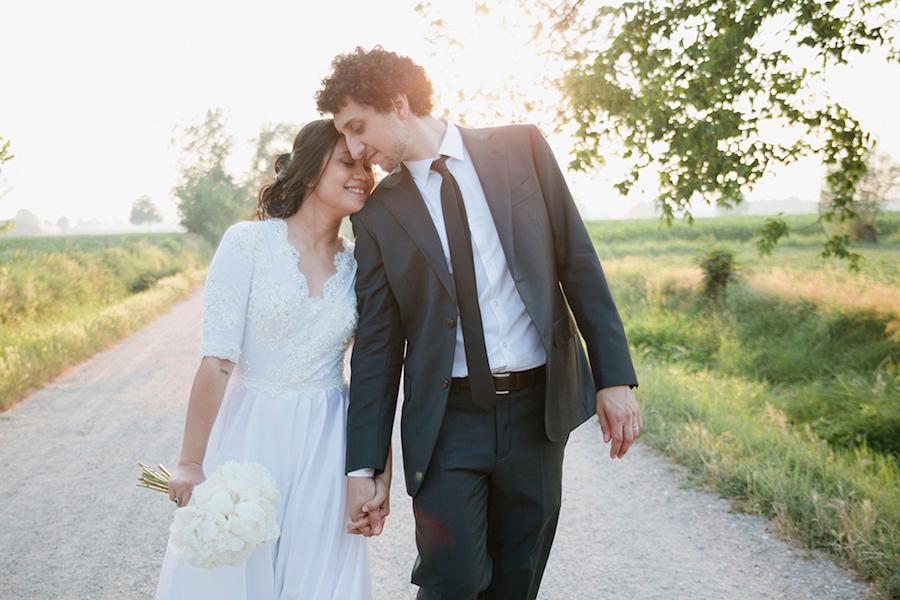 matrimonio raffinato in blu