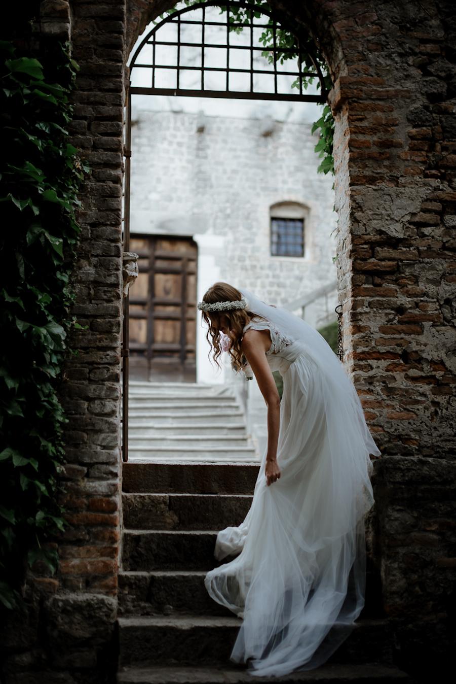 abito da sposa rosa clarà