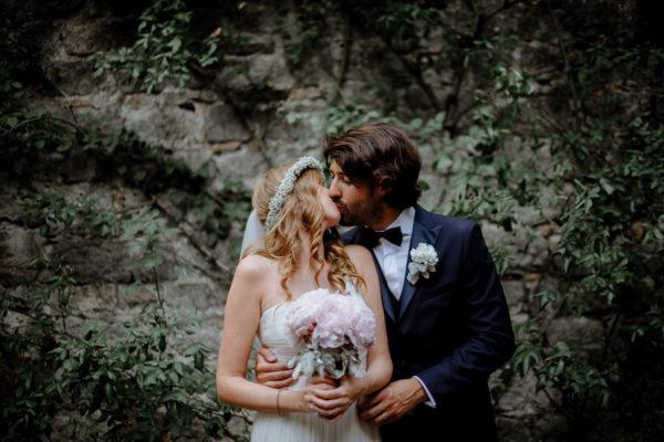 Un matrimonio romantico e bohémien