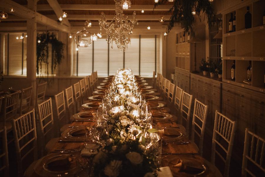 tavola matrimonio rustic chic
