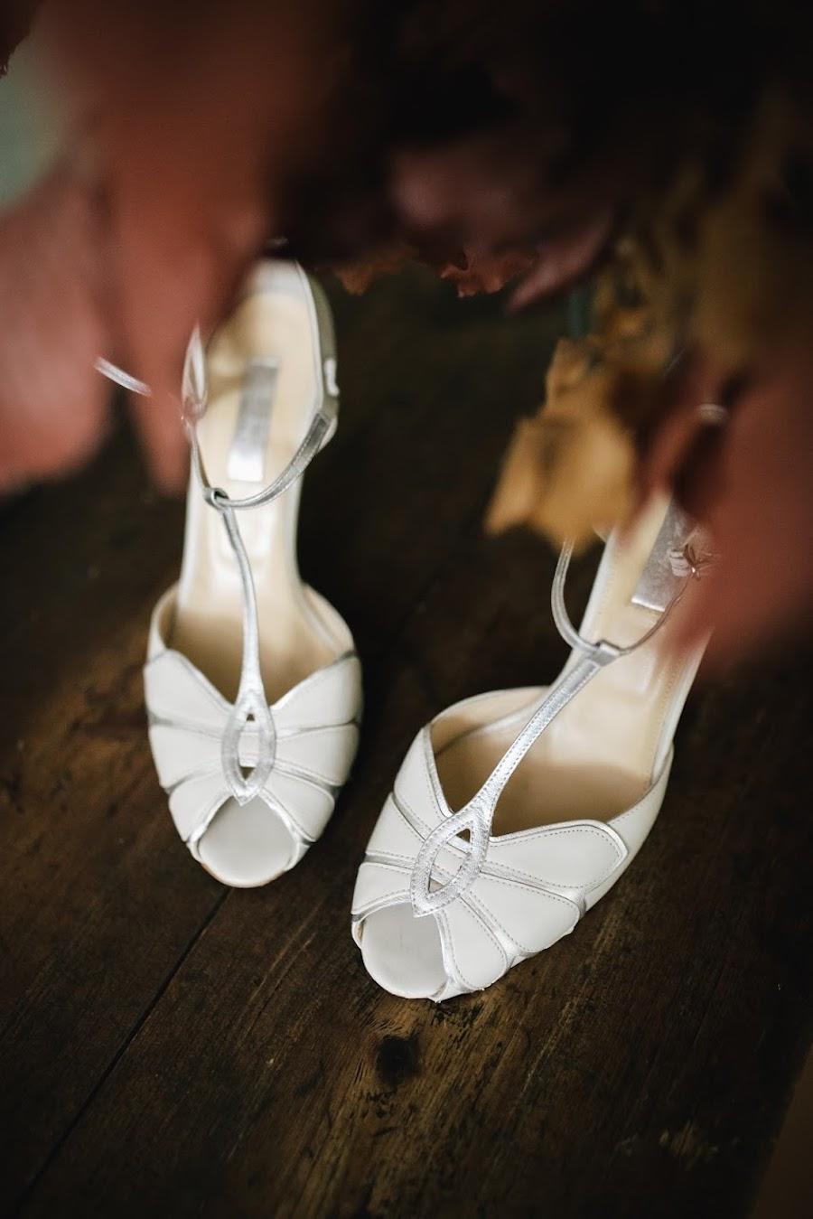 sandali da sposa bhldn