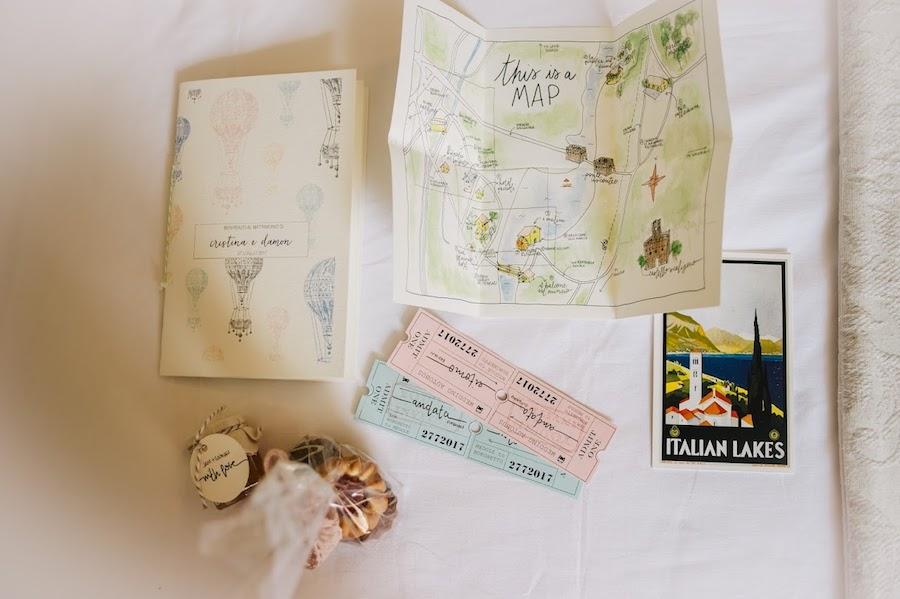 inviti matrimonio con illustrazioni