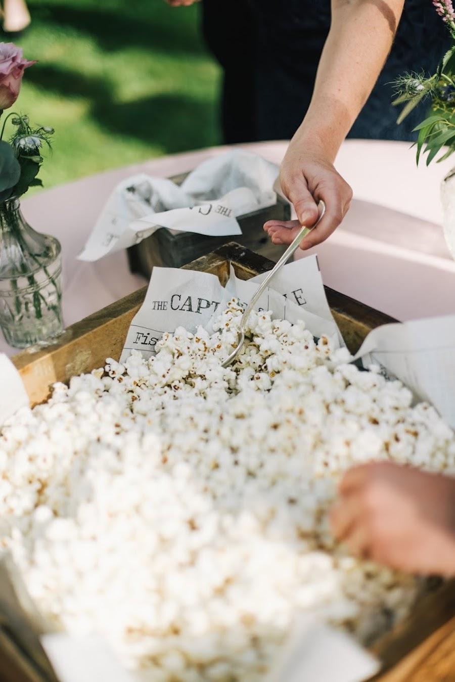 popcorn matrimonio