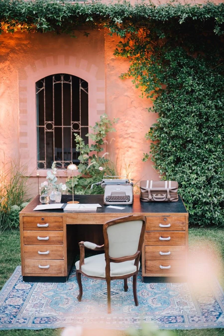 angolo guestbook matrimonio vintage