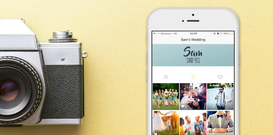 SamSaidYes, l'app per condividere le foto del matrimonio