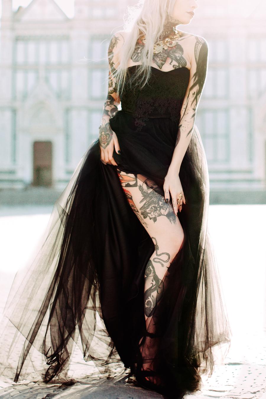 sposa in nero