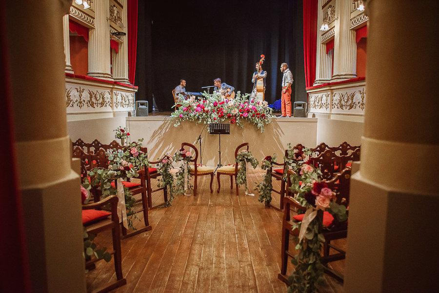 matrimonio a teatro