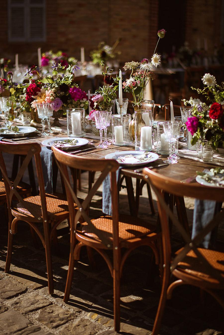 tavola matrimonio in legno