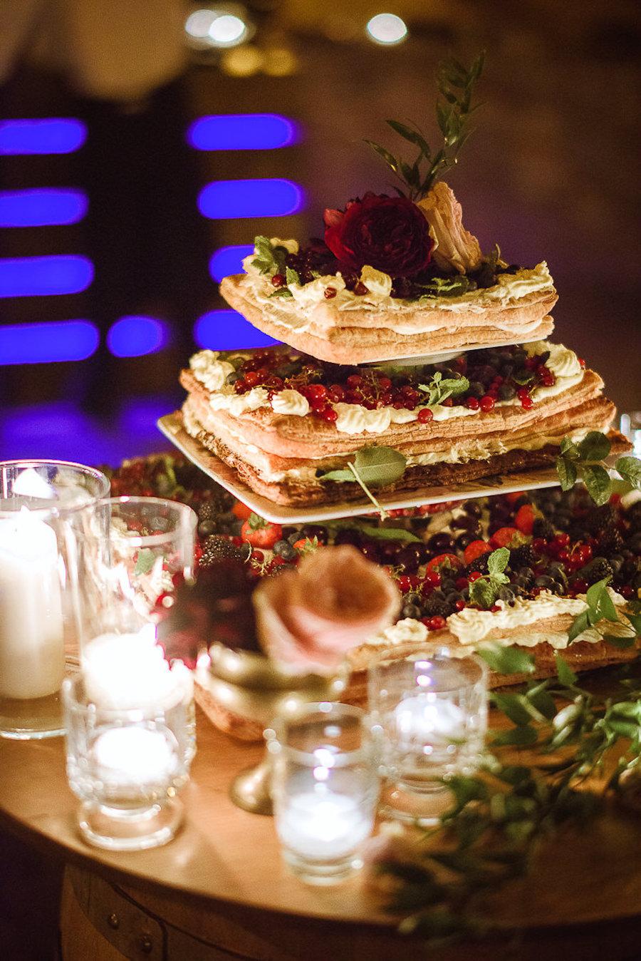 torta nuziale millefoglie