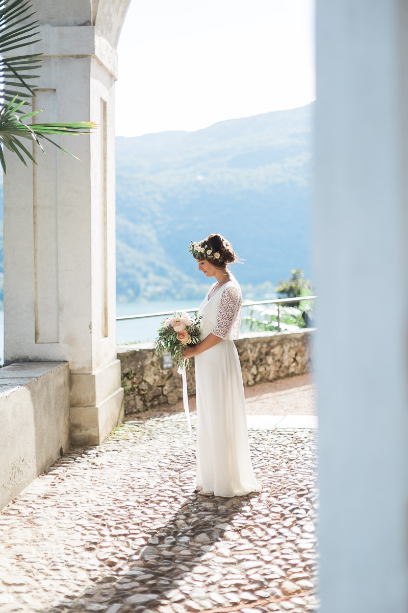abito da sposa laure de sagazan