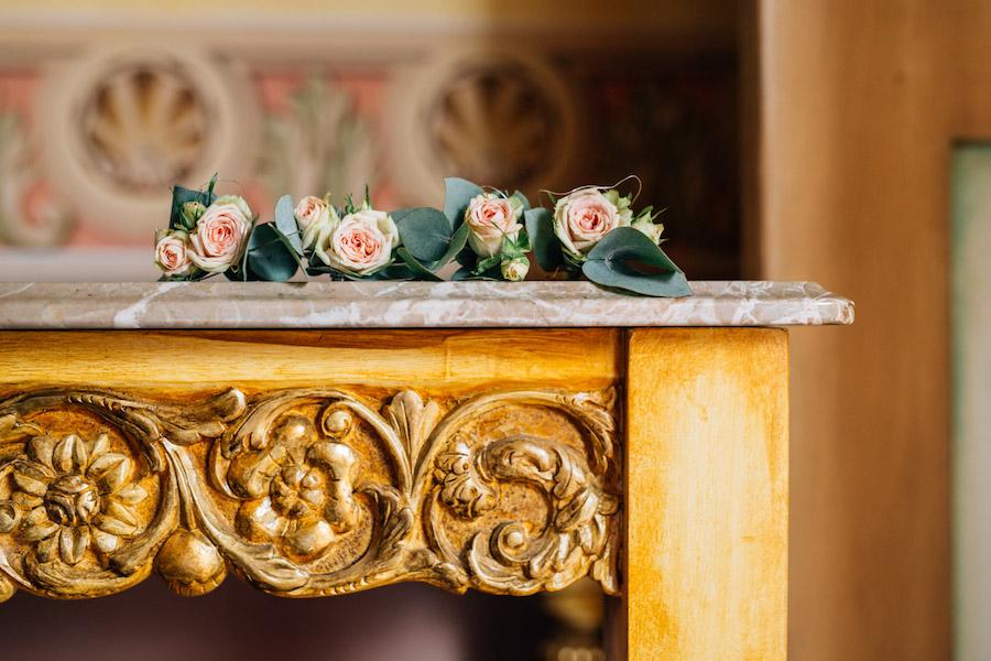matrimonio botanico romantico